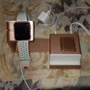 Apple Watch Series 2, 42mm with accessories